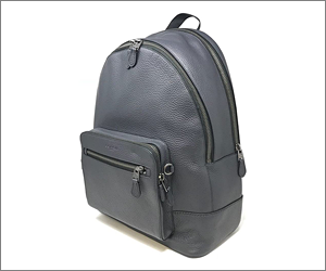 Coach Under Seat Leather Backpack